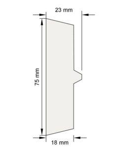 Изображение Цокольный карниз КЦ1 декор лепнина размеры
