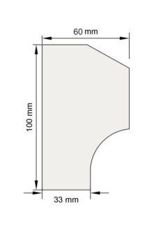 Изображение Цокольный карниз КЦ16 декор лепнина размеры