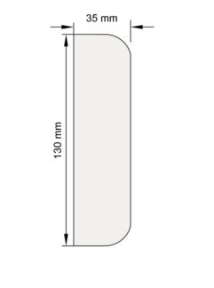 Изображение Наличник Н18 декор лепнина размеры