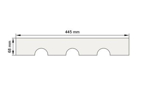 Изображение пилястра декор лепнина пл2 размеры