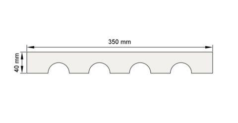 Изображение пилястра декор лепнина пл9 размеры