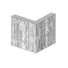 Изображение фахверк угловой профиль