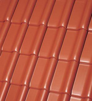 фото Черепица Roben MONZAplus медный красно-коричневый