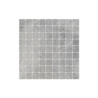 Изображение текстуры мозаики Interbau Lithos Devon Grau
