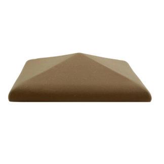Изображение колпак для забора Golowczynski, коричневый