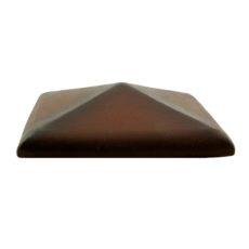 Изображение колпак для забора Golowczynski, ольха (коричневый)